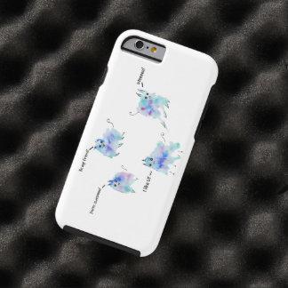 Friendly creatures tough iPhone 6 case