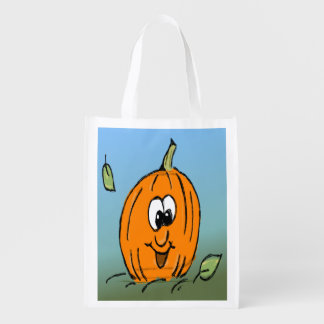 Friendly Cute Halloween Pumpkin Jack O' Lantern