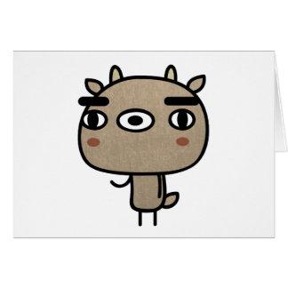 Friendly Deer Greeting Card