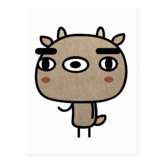 Friendly Deer Postcard