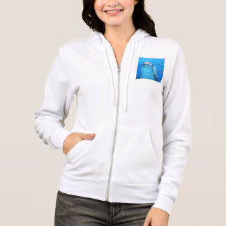Friendly Dolphin Photo Hoodie