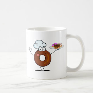 Friendly Donut Chef Coffee Mug