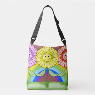 Friendly Flowers Tote Bag