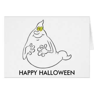 Friendly Ghost Greeting Card
