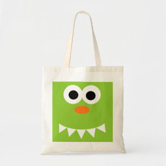 Friendly Green Monster Tote Bag