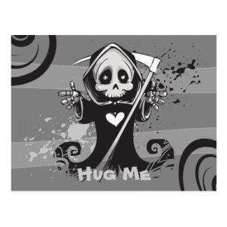 Friendly Grim Ripper - Hug me Postcard