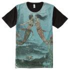 Friendly Mermaids All-Over Print T-shirt