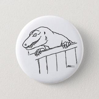 Friendly Neighborhood Dinosaur 6 Cm Round Badge
