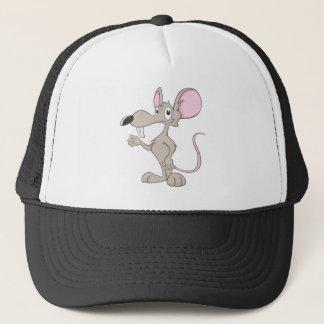 Friendly Rat Illustration Trucker Hat