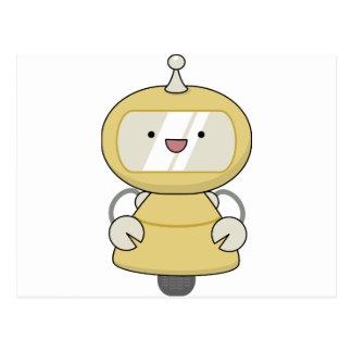 Friendly Robot Postcard