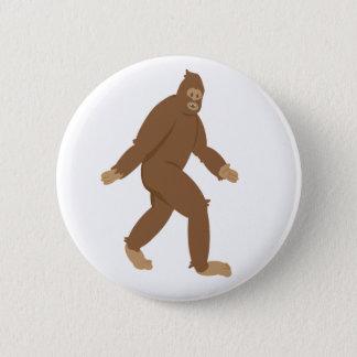 Friendly Sasquatch 6 Cm Round Badge