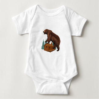 Friendly Savage Baby Bodysuit