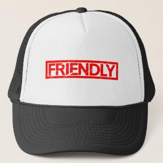 Friendly Stamp Trucker Hat