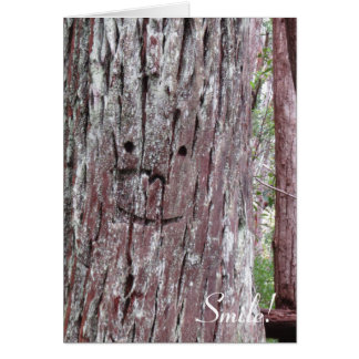 Friendly Tree Greeting Card