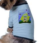 Friendly waving Easter Chick Dog Clothing