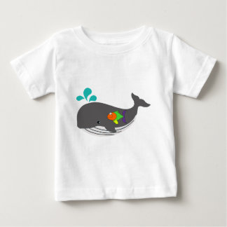 Friendly Whale Baby T-Shirt