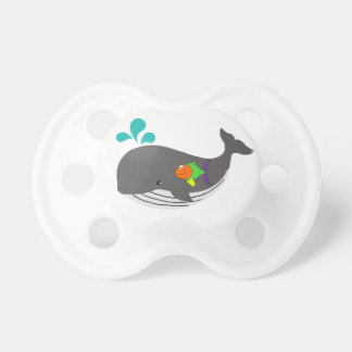 Friendly Whale Pacifiers