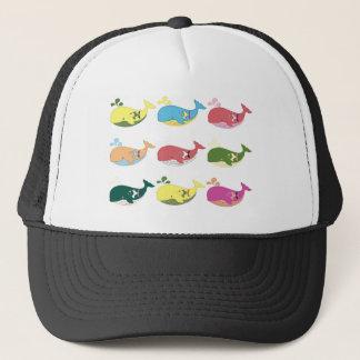 Friendly Whales Trucker Hat