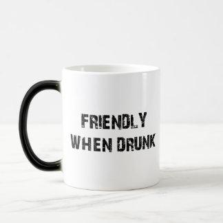 Friendly When Drunk Magic Mug