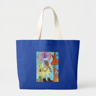 Friendly Zooka Jumbo Tote Bag