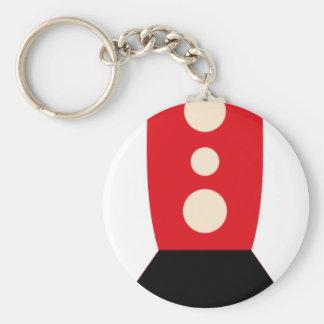 FriendlyAliensB5 Basic Round Button Key Ring
