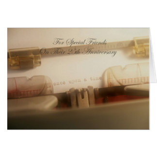 Friends 25th Anniversary Card
