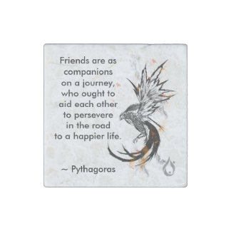 Friends are companions Magnet