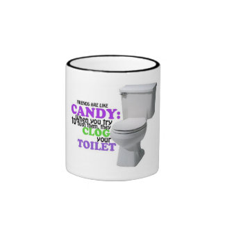 Friends are like Candy Ringer Mug