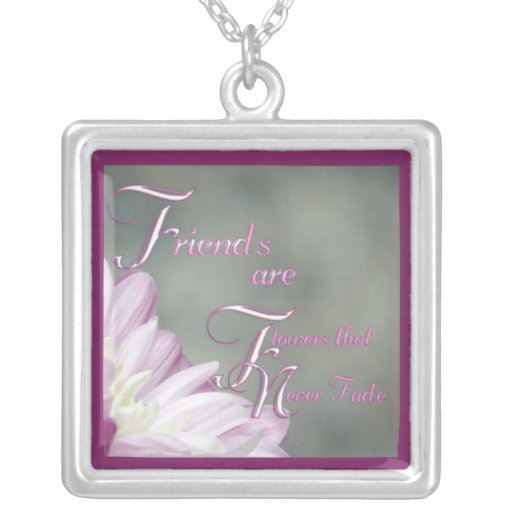Friends Are Necklace