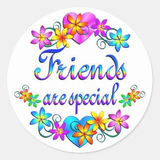 Friends are Special Round Sticker