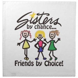 Friends By Choice Napkin