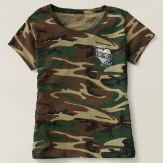 FRIENDS CAMO_WHT T-Shirt