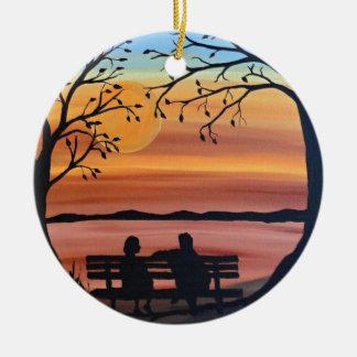 Friends Ceramic Ornament