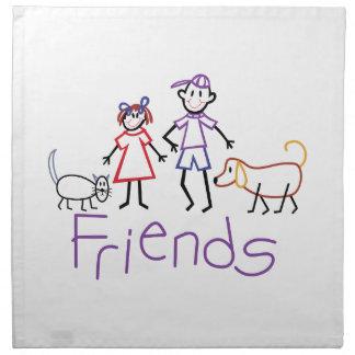 Friends Cloth Napkins