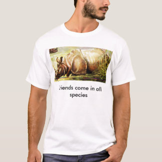 Friends come in all species T-Shirt