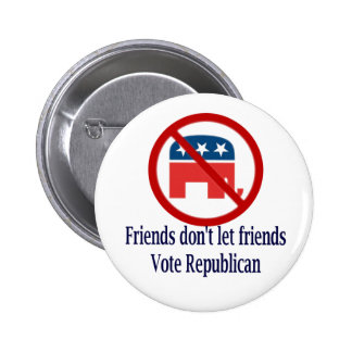 Friends Don t Let Round Button