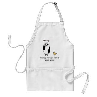 Friends Don't Let Friends Eat Friends Standard Apron