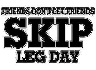 c592dff1a4892 Friends Don t Let Friends Skip Leg Day Trucker Hat