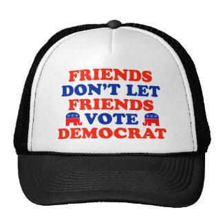 Friends Don't Let Friends Vote Democrat Trucker Hat