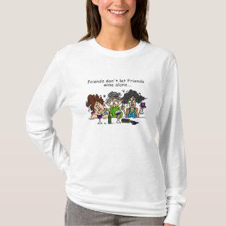 Friends don't let friends wine alone T-Shirt