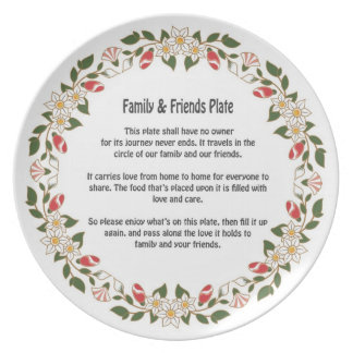 Friends & Family Plate 1