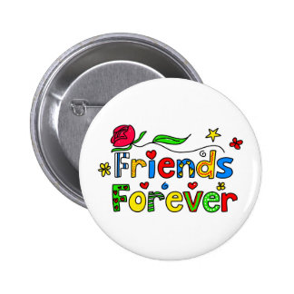 Friends Forever 6 Cm Round Badge
