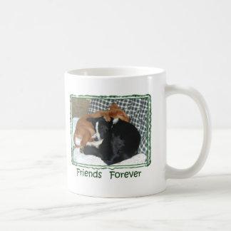 Friends Forever - Border Collie & Golden Retriever Mug