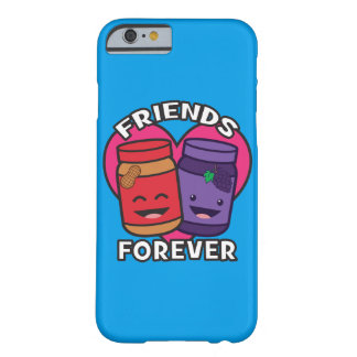 Friends Forever - Peanut Butter And Jelly Kawaii Barely There iPhone 6 Case