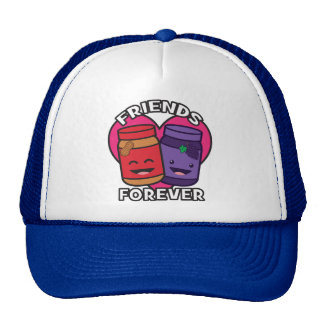 Friends Forever - Peanut Butter And Jelly Kawaii Cap