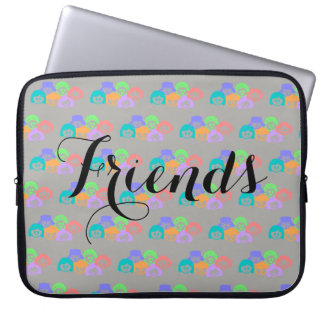 """Friends"" Friendship, Laptop Sleeve. Laptop Sleeve"