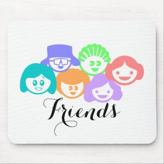 """""""Friends"""" Friendship, Mouse Pad"""