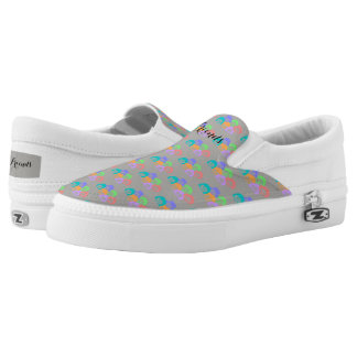 """Friends"" Friendship, Slip On Shoes. Printed Shoes"