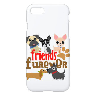 Friends Furever Dogs Puppies iPhone 7 Case
