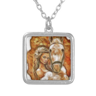 Friends Girl and Horse Jewelry